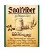 Etikett Saalfelder Jubiläumsbier