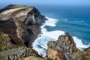 Vulkanfelsen auf den Azoren
