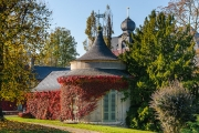 Bergfried im Herbst