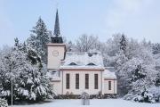 Dorfkirche Hohenwarte im Winter
