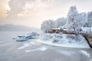 Hohenwarte Stausee im Winter